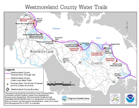 Westmoreland County Water Trails